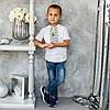 Трикотажная вышиванка для мальчика, фото 2