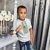 """Трикотажная вышиванка для мальчика """"Демьян"""", фото 2"""