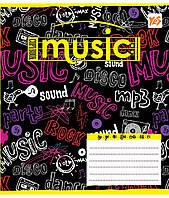 Нотная тетрадь А5 12 л. YES Music bit 761288