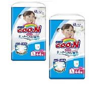 Goo.N. Трусики-подгузники GOO.N для девочек 9-14 кг, размер L, 2х 44 шт (853628)