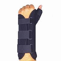 Усиленный ортез для полной фиксации лучезапястного сустава и суставов большого пальца WRS-203