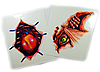 Набор наклеек-татуировок (2 шт.) (SKD-0888)