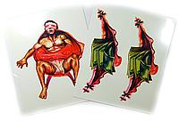 Набор наклеек-татуировок (2 шт.) (SKD-0889)