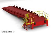 Эстакада перегрузочная 9м 6т с платформой уравнительной 1.8х2м и фермой выносной 90