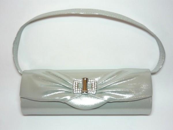 c9614e250cb0 Сумка-клатч, кожзам, серебристый, стразы 31_3_10a3 купить в интернет ...