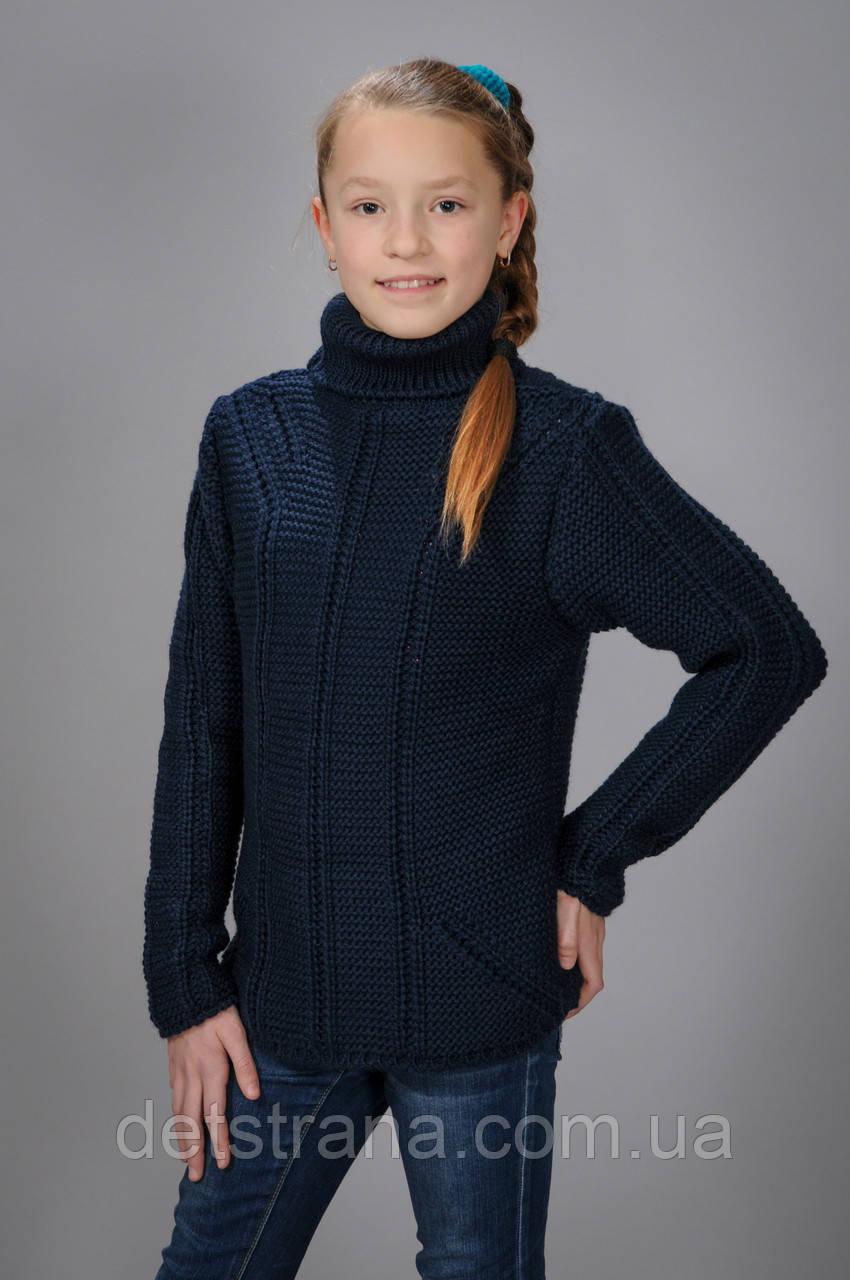 Вязаный свитер для детей