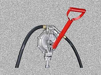 Ручной двухдиафрагменный насос Groz DPP/1 (44195)