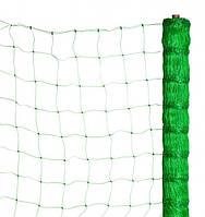 Сетка шпалерная огуречная зелёная (ширина 1,7 м размер ячейки 17см х 15см) ВЕНГРИЯ.