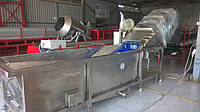 Барботажная моечная машина для мойки овощей и ягод, фото 1