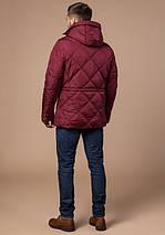Braggart Dress Code 12481 | Зимняя фирменная стеганая куртка красная, фото 3