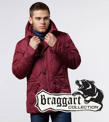 Braggart Dress Code 12481 | Зимняя фирменная стеганая куртка красная, фото 2