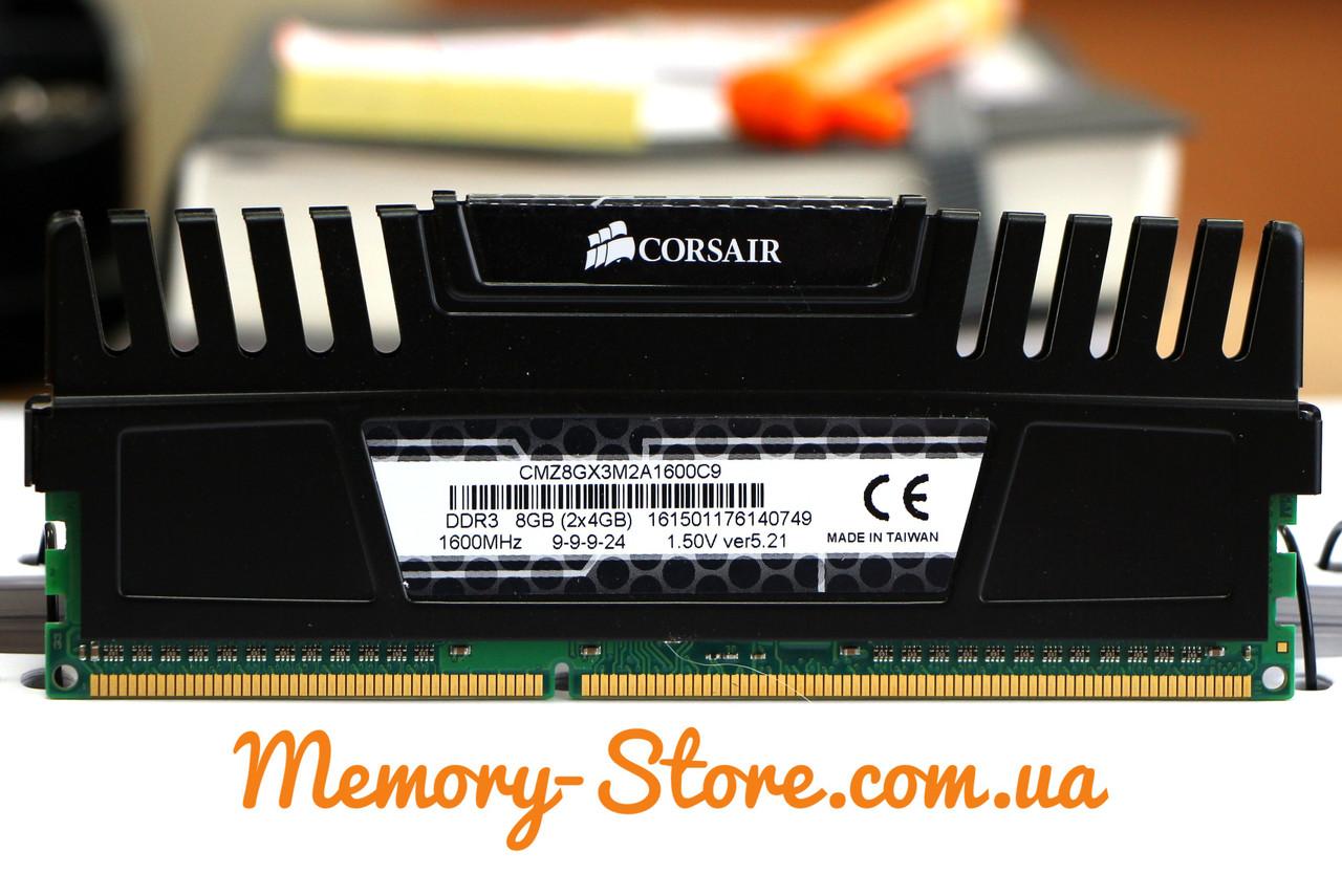 Оперативная память для ПК Corsair Vengeance DDR3 4Gb PC3-12800 1600MHz
