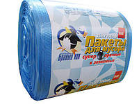 Биоразлагаемые пакеты для мусора, 35л (100шт) Супер прочные