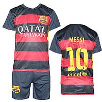 """Футбольная форма на детей и подростков """"Барселона"""" недорого MC1-5"""