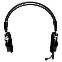 Навушники накладні провідні з мікрофоном Sven AP-540 Black Red (AP-540 (SVEN))