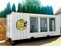 Мобильная мини-пивоварня в контейнере