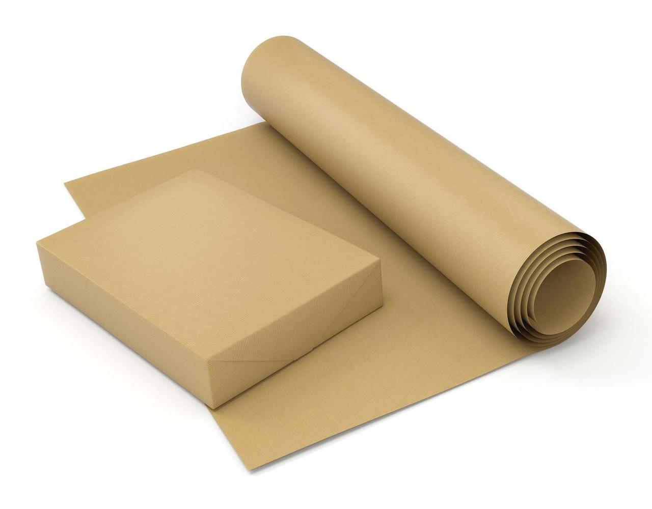 Упаковочная бумага, оберточная 125 грамм - 84 см × 55 м