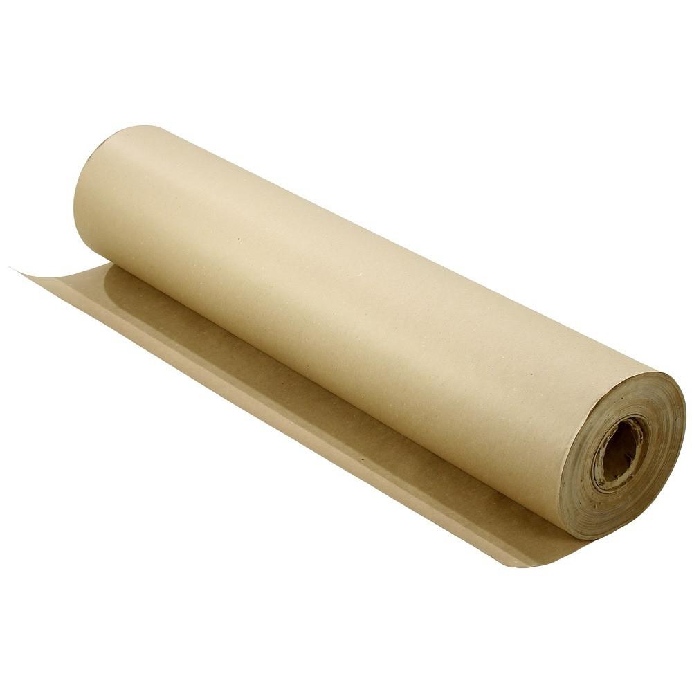 Упаковочная бумага, оберточная 90 грамм - 84 см × 70 м