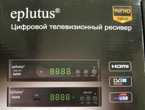 Цифровая приставка Т2+ дисплей и кнопки (Ютуб, IPTVT)12 V Т2 Ресивер (Тюнер) Т2 Eplutus138T  Гарантия 1год