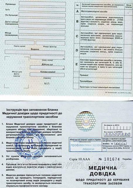Медицинская справка формы 083/о донецк медицинская справка форма № 079/у