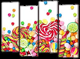 Модульная картина Леденцы и конфеты