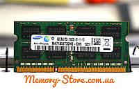 Оперативная память для ноутбука SAMSUNG DDR3 4GB PC3-10600S 1333MHz 1.5V SODIMM (б/у)