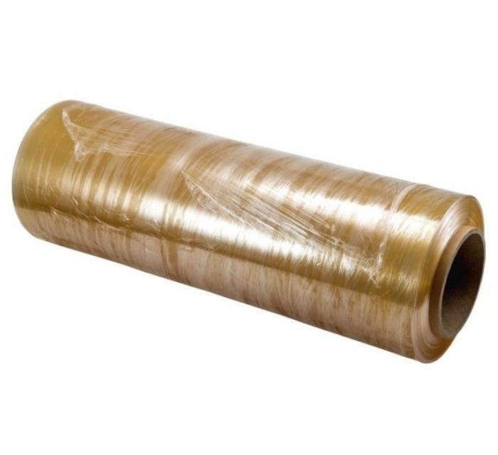 Пищевая стрейч-пленка ПВХ 8 мк - 300 мм × 300 м