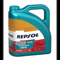 REPSOL ELITE MULTIVALVULAS 10W-40 4L