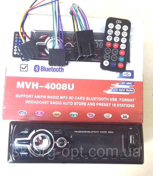 Автомагнитола MVH-4008U