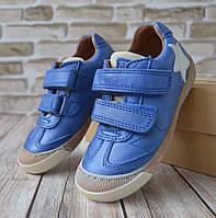 Кожаные кеды на липучке BISGAARD (Португалия) р 26. Ортопедическая детская  обувь f67c5e1e644