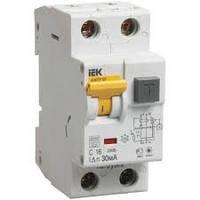 Автоматический выключатель дифференциального тока АВДТ32 C10 30мА ИЭК, фото 1