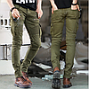 Джинси байкерські чоловічі.Чоловічі вузькі джинси.Арт.А217