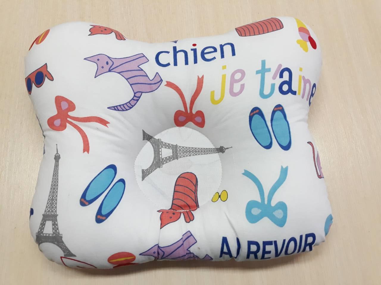 Детская ортопедическая подушка бабочка