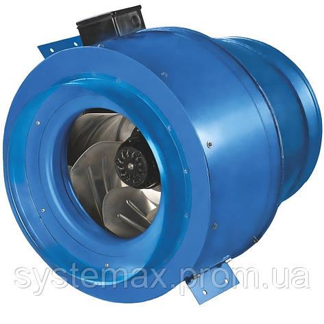 ВЕНТС ВКМ 355 Б (VENTS VKM 355 B) - круглый канальный центробежный вентилятор , фото 2