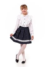 Детская нарядная школьная юбка по доступной цене.