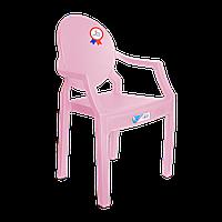 Крісло дитяче Irak Plastik Afacan рожеве