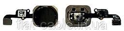Шлейф кнопки Home + сканер и Черный кнопка iPhone 6 100% ОРИГИНАЛ