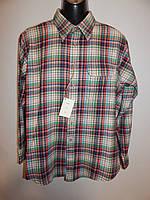 Мужская теплая рубашка с длинным рукавом GANT р.52 051Pт