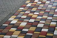 Тротуарная плитка Старый Город (Серый) h - 40