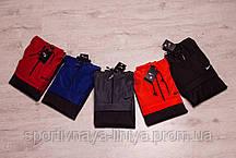 Копия Мужской Анорак оранжевый + черный Nike Найк реплика, фото 3