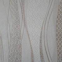 Обои Мускат 3593-01 виниловые на флизелиновой основе ширина 1.06,в рулоне 5 полос по 3 метра.