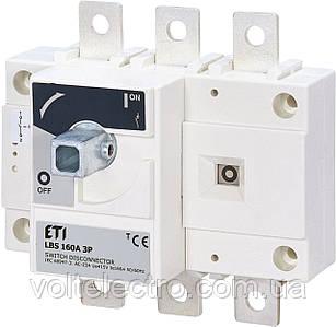 Выключатели нагрузки LBS 160A 3p (без рукоятки)