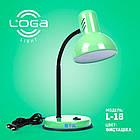 Лампа настольная Loga Light L-18 Фисташка, фото 2