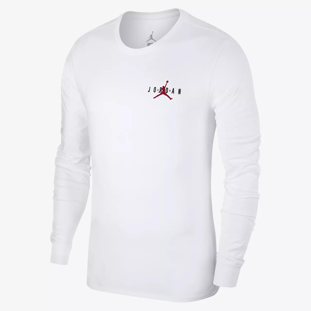 e07bb622 Толстовка Nike Jordan Sportswear Air Long-Sleeve T-Shirt AA7754-100  (Оригинал