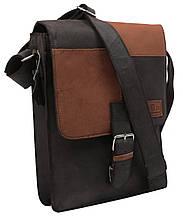 Кожаная сумка-плантешка Always Wild NZ-721 Brown Tan коричневый