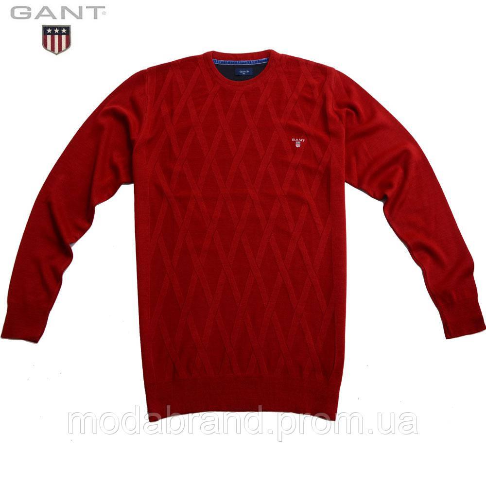 a347dc95a83 Добротный мужской свитер Gant -