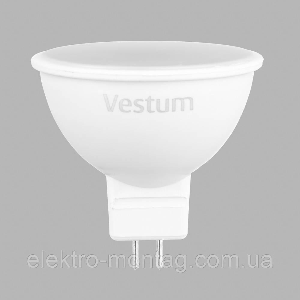 Светодиодная лампа Vestum LED  MR16 5W 3000K 220V GU5.3