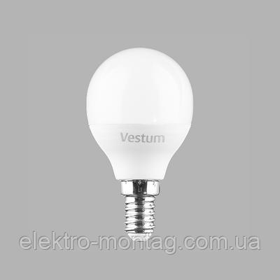 Светодиодная лампа Vestum G45 4W 4100K 220V E14