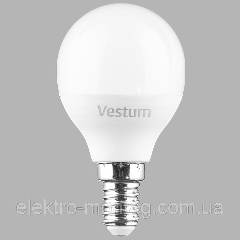 Светодиодная лампа Vestum G45 8W 4100K 220V E14