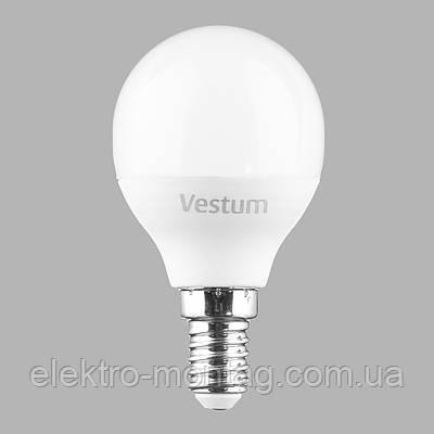 Светодиодная лампа Vestum LED  G45 6W 3000K 220V E14